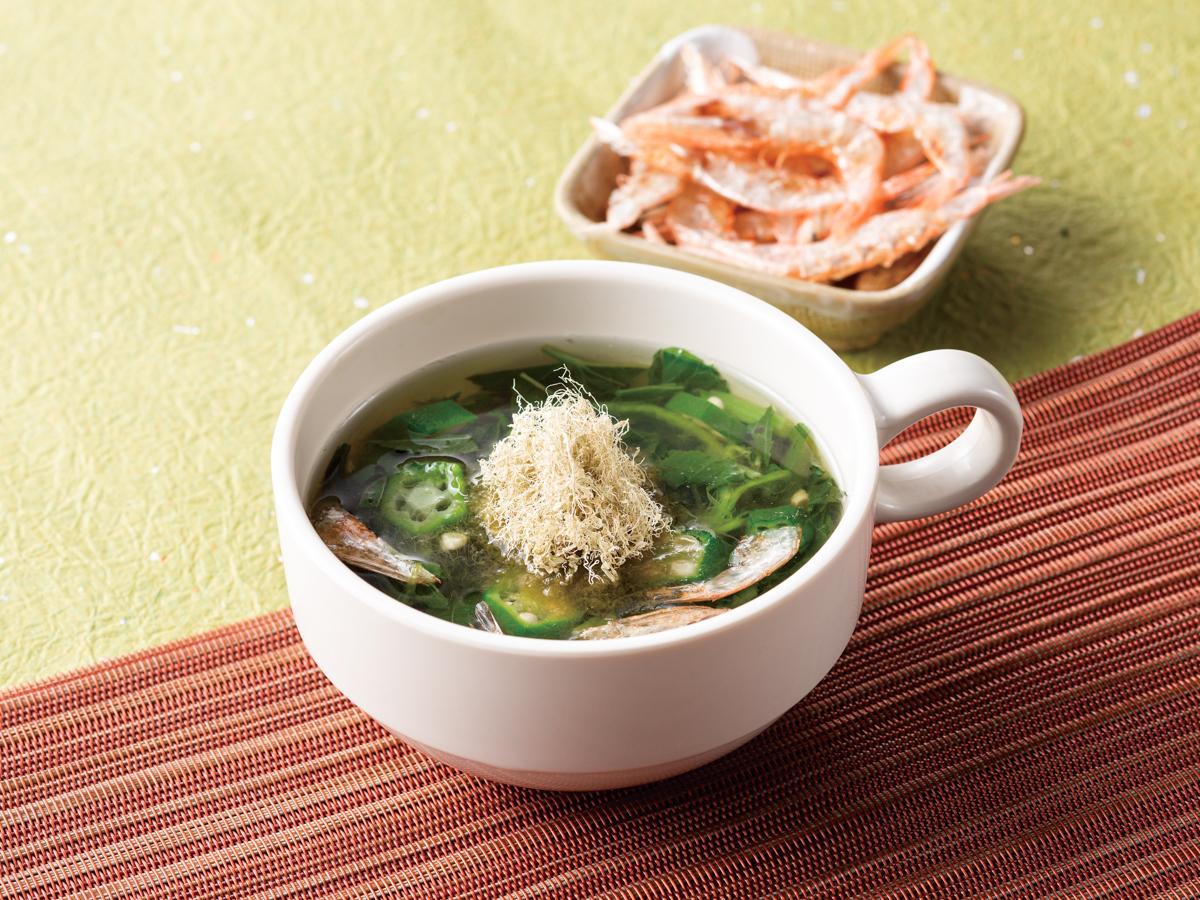 コンフォートホテル富山駅前 とろろ昆布スープ