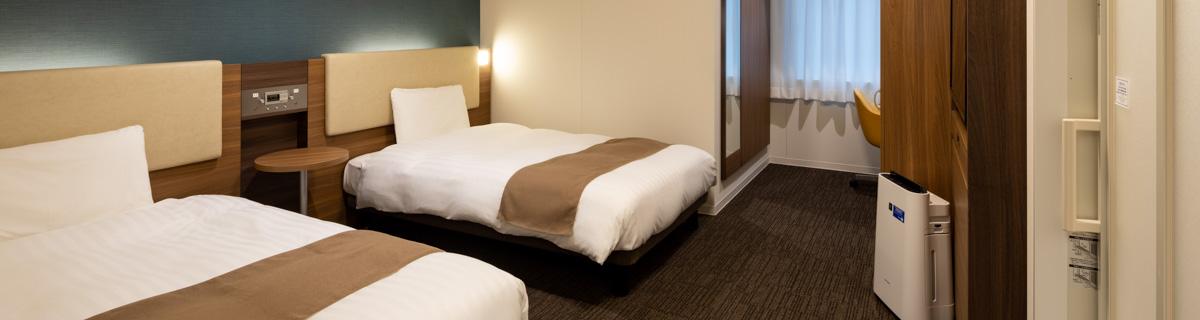 コンフォートホテル札幌すすきのユニバーサルルーム