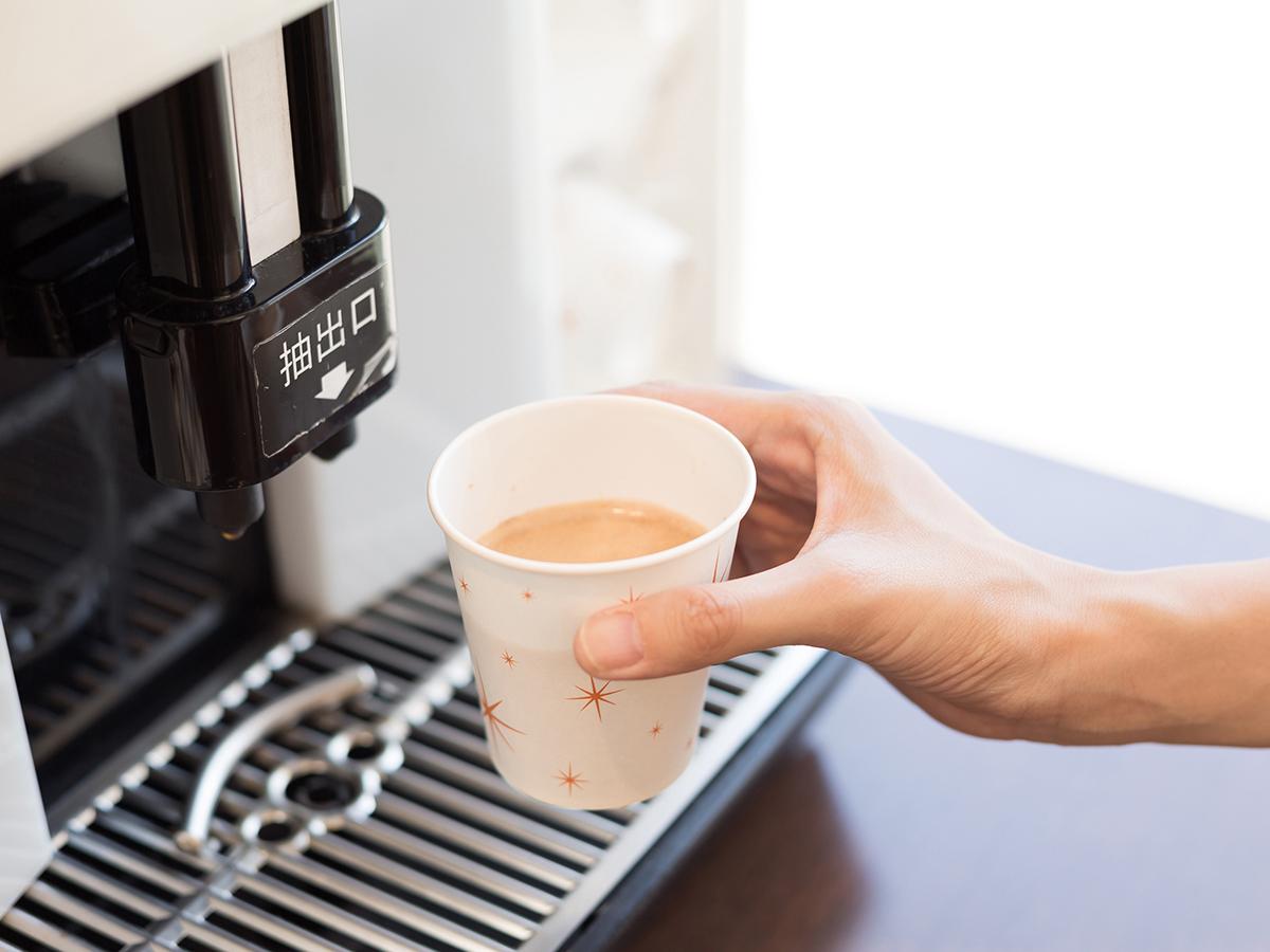 一杯ずつ豆から挽く香り豊かな本格コーヒー