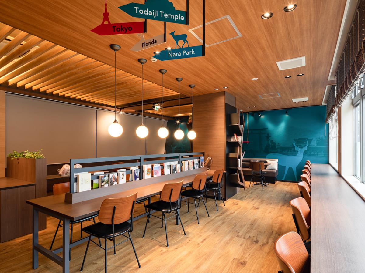 コンフォートホテル奈良_Comfort Library Cafe