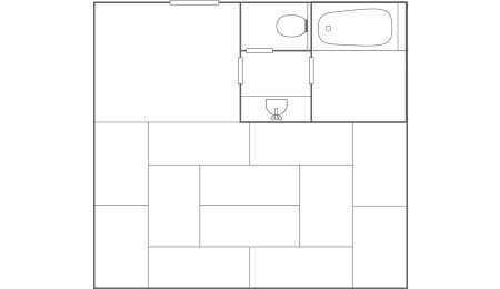 和室_平面図