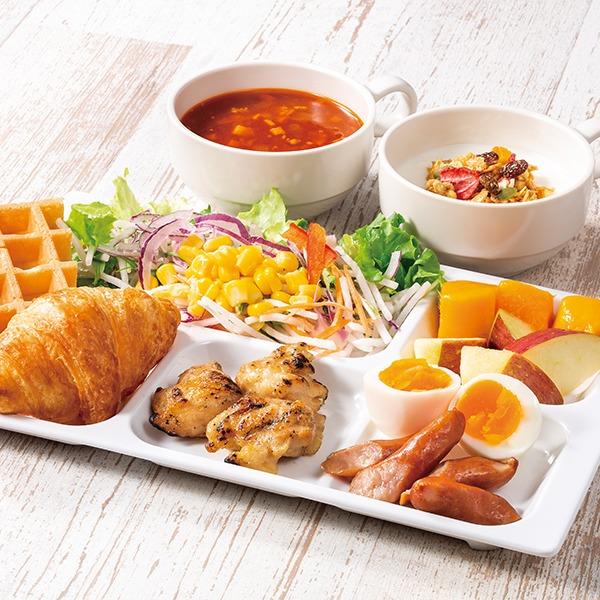 無料朝食サービス 一例