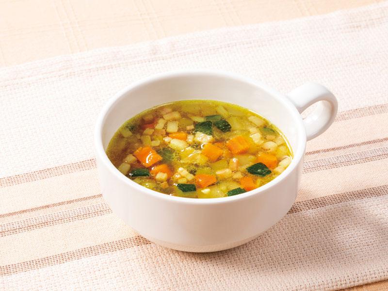 夏のカレースープ