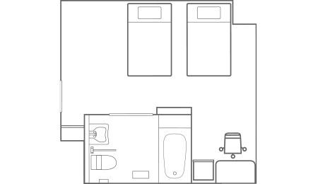 ユニバーサルルーム_平面図
