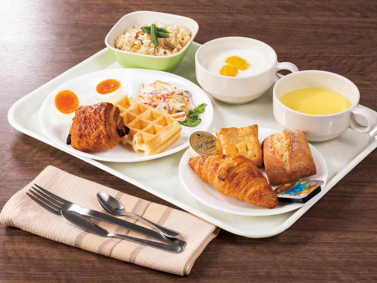 無料朝食 ※イメージ