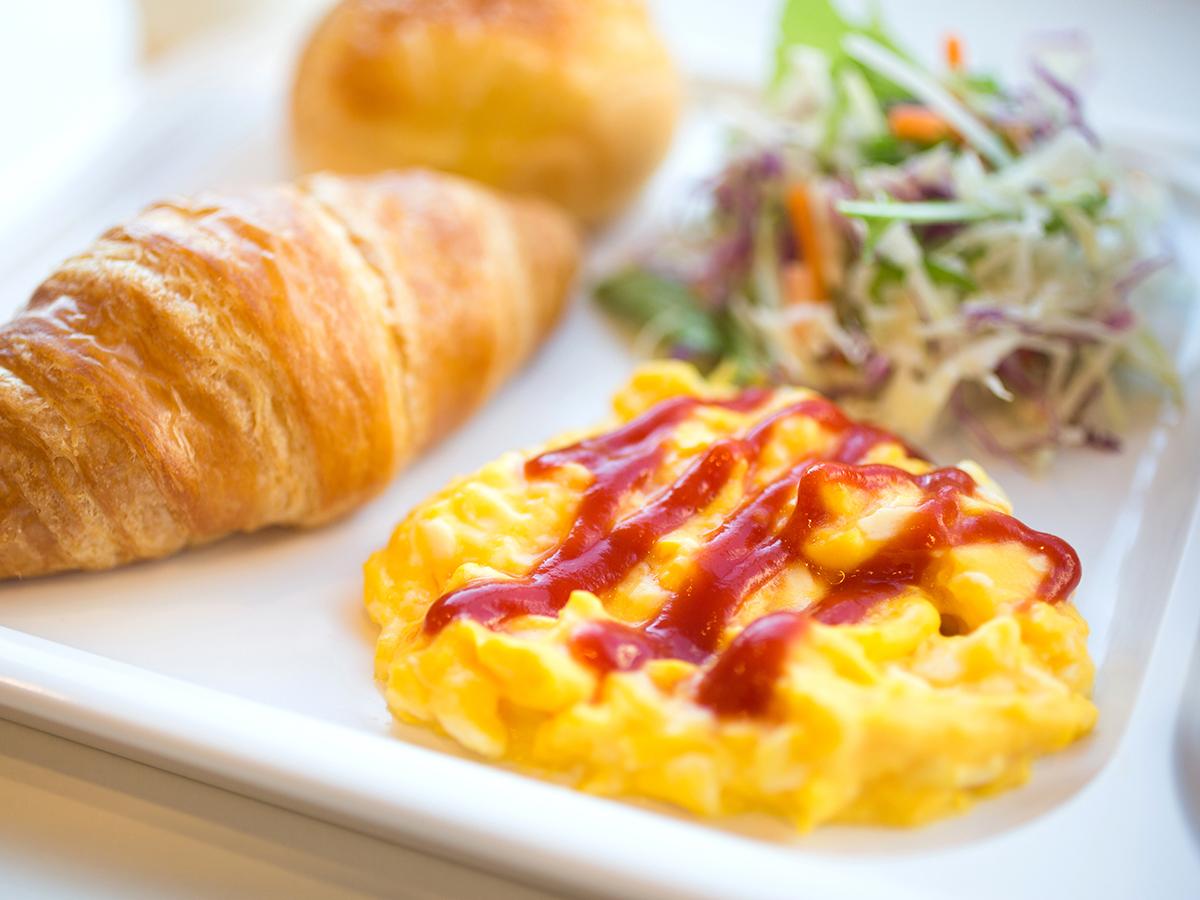 コンフォートホテルの無料朝食