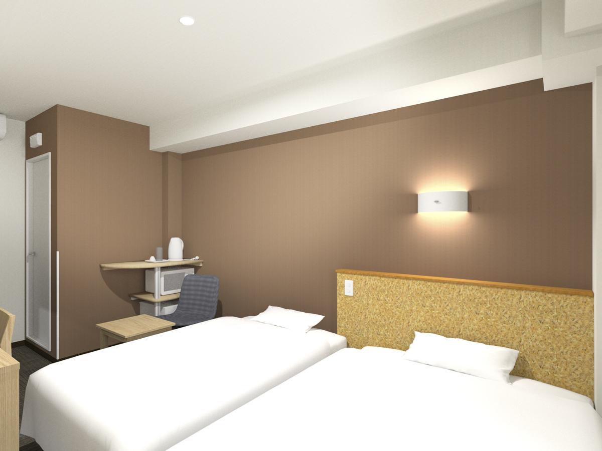 親子ベッドを設置した客室 ※イメージ
