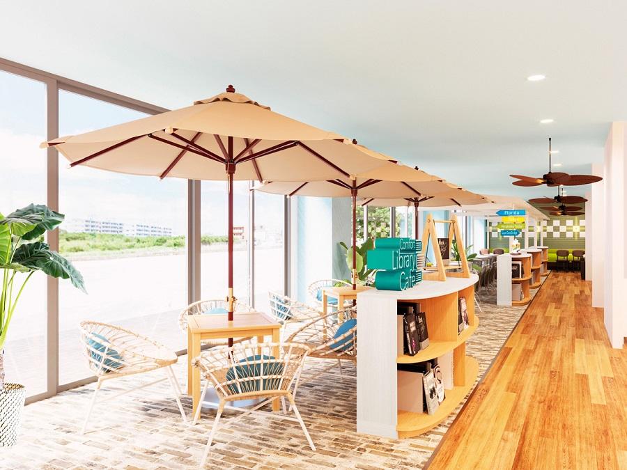 コンフォートホテル石垣島 Comfort Library Cafe ※イメージ