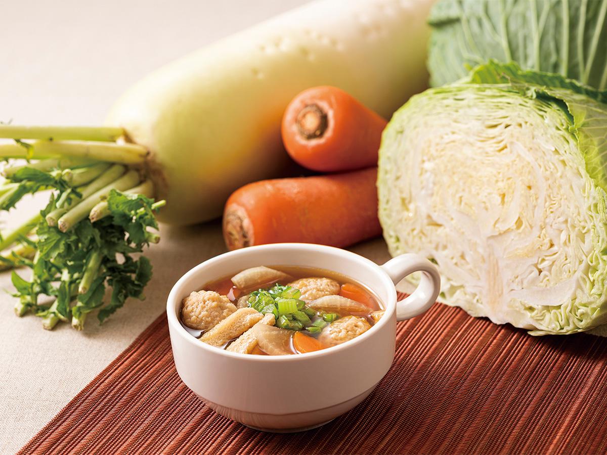 コンフォートホテル東京東神田 ちゃんこ風スープ(しょうゆ)
