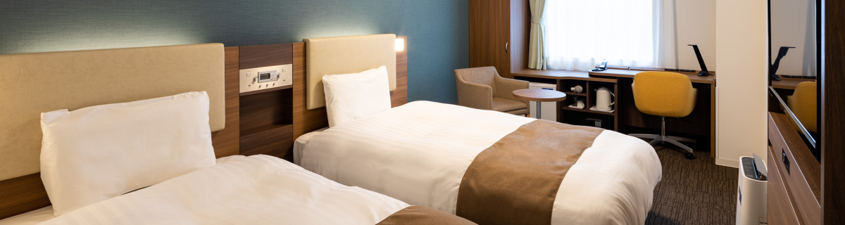 コンフォートホテル札幌すすきのツインスタンダード