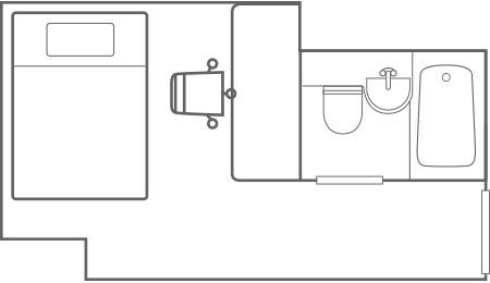 ダブルエコノミー_平面図