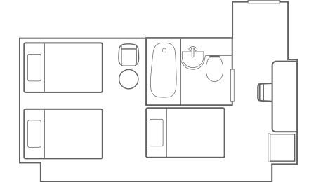 ファミリールーム_平面図